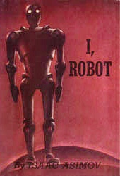First edition cover (1950) of I, Robot