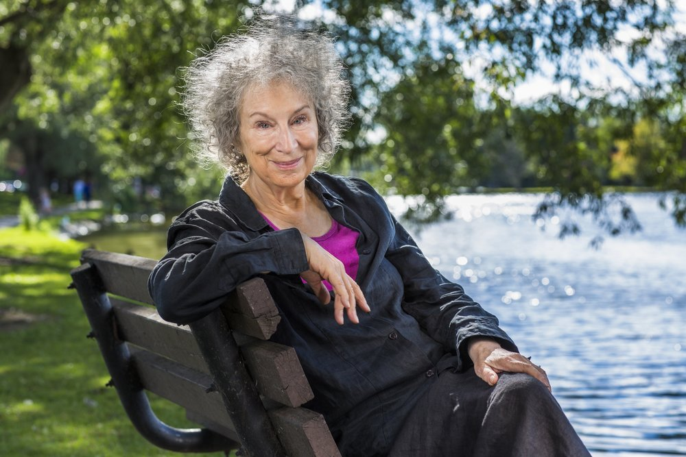 Margaret Atwood by photographer Liam Sharp