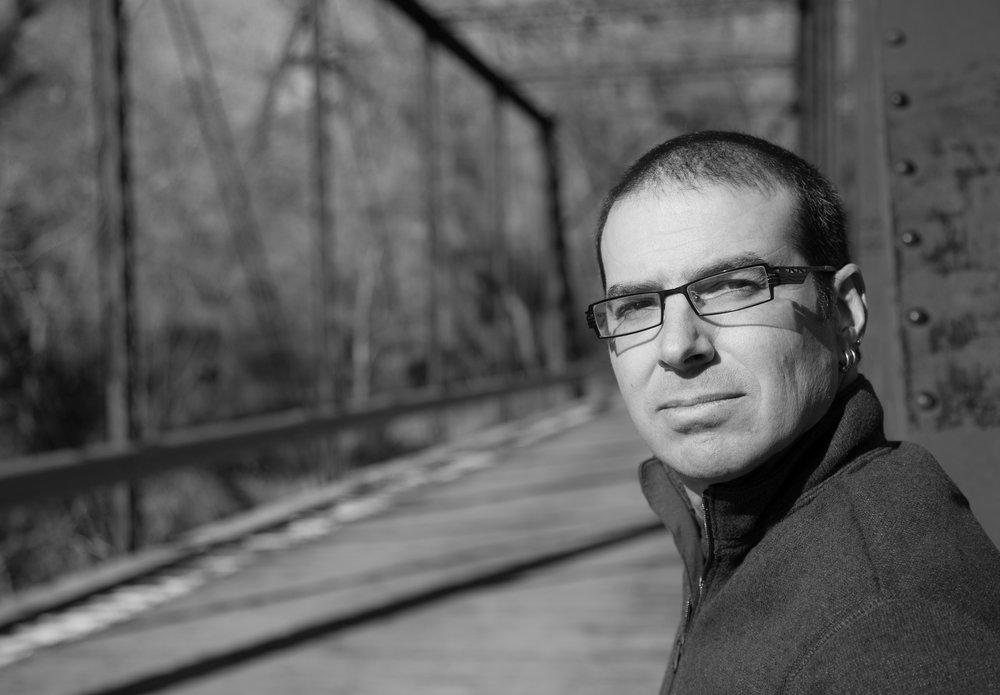 Paolo Bacigalupi (Photo by JT Thomas Photography)