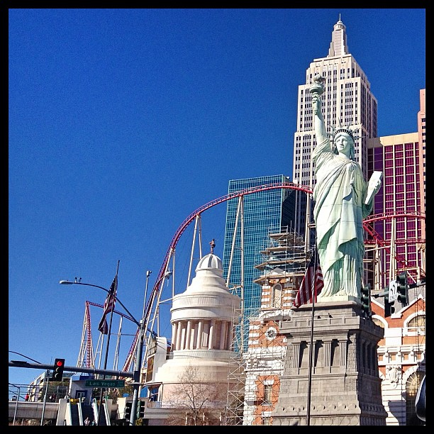 Leaving Vegas by way of New York