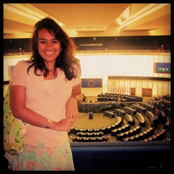 My trip to the European Union Commission in Brussels (2009)