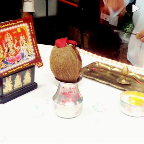 Diwali Puja 2013