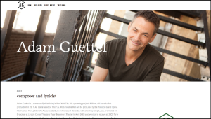 Tony Award winning composer- Adam Guettel