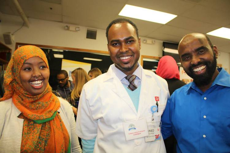 Leadership team at SHB annual health fair