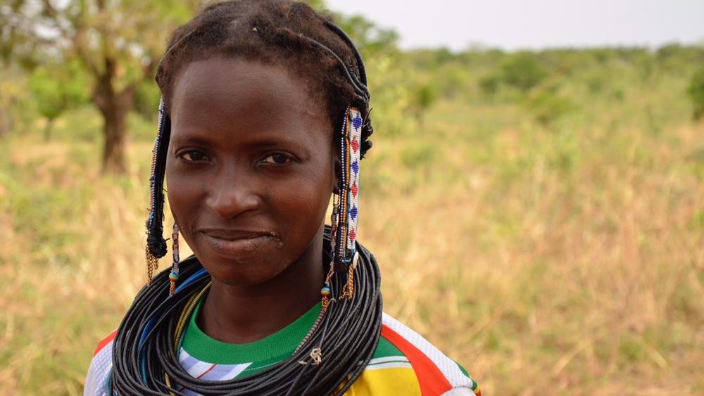 Women of the nomadic Peul people in Northern Benin.