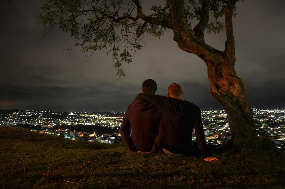 Dani and me in Quetzaltenango (Guatemala)