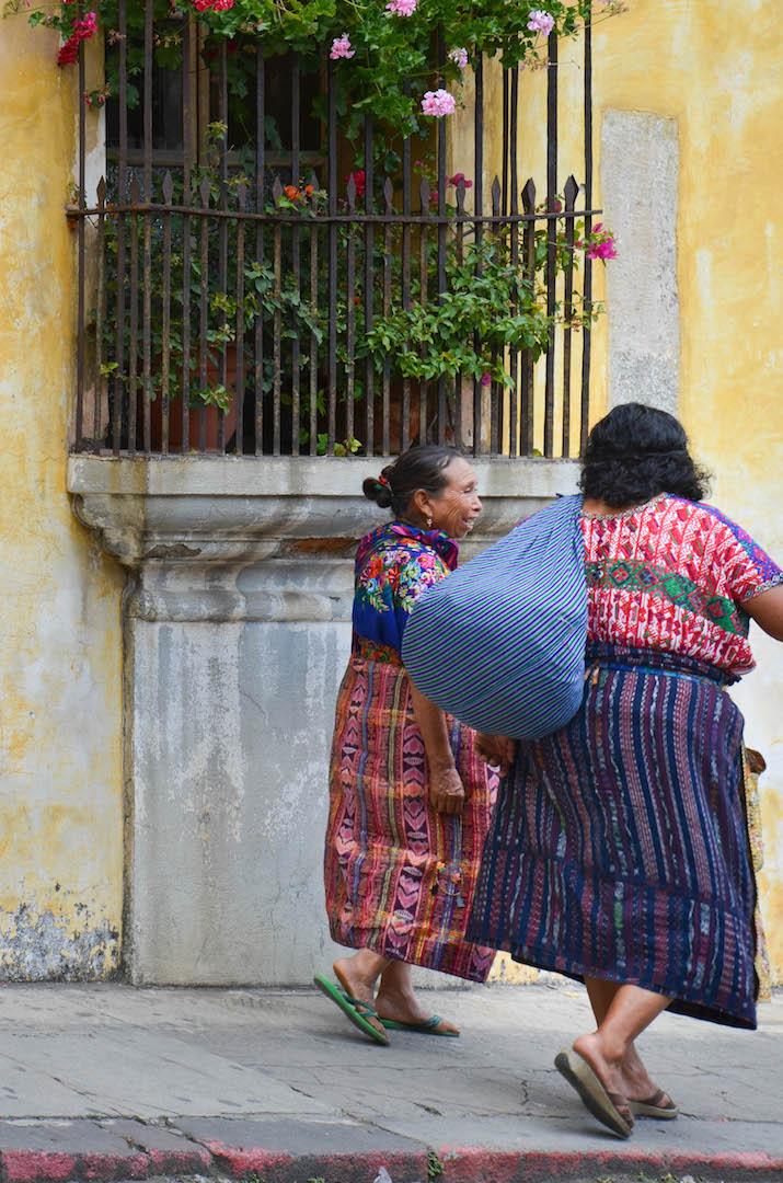 Maya women in Antigua