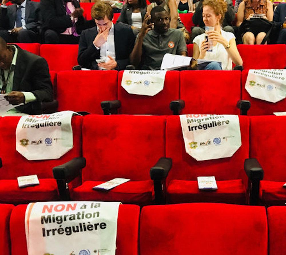 Junge Welt - Die Europäische Union finanziert in Afrika Propagandaveranstaltungen gegen Migration. Über die strukturellen Ursachen dieser schweigt sie | Teil I