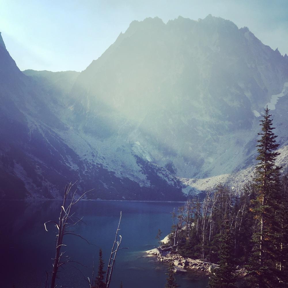 Colchuck Lake.