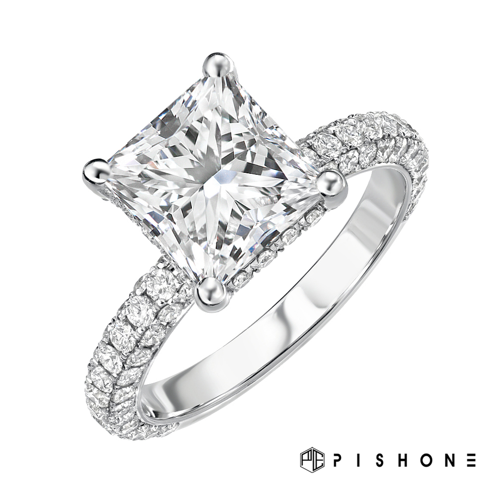 PISHONE 3D ENGAGEMENT RING