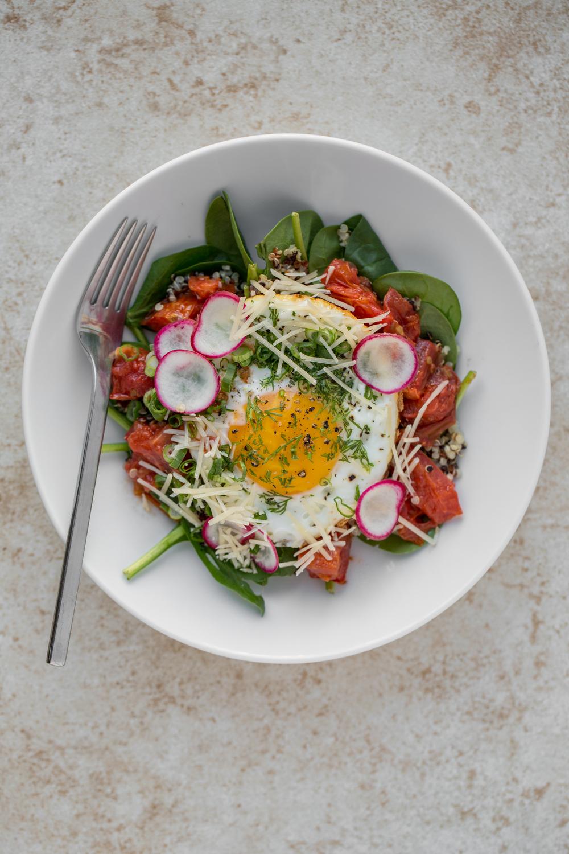 Quinoa Breakfast Bowl. Photo by Sarah Crowder.