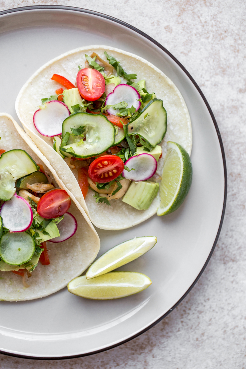 Mini Vegetable Tacos. Photo by Sarah Crowder.