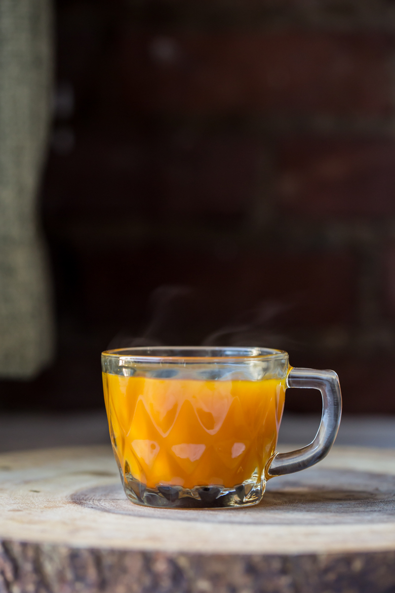 Turmeric Tea. Photo by Sarah Crowder.