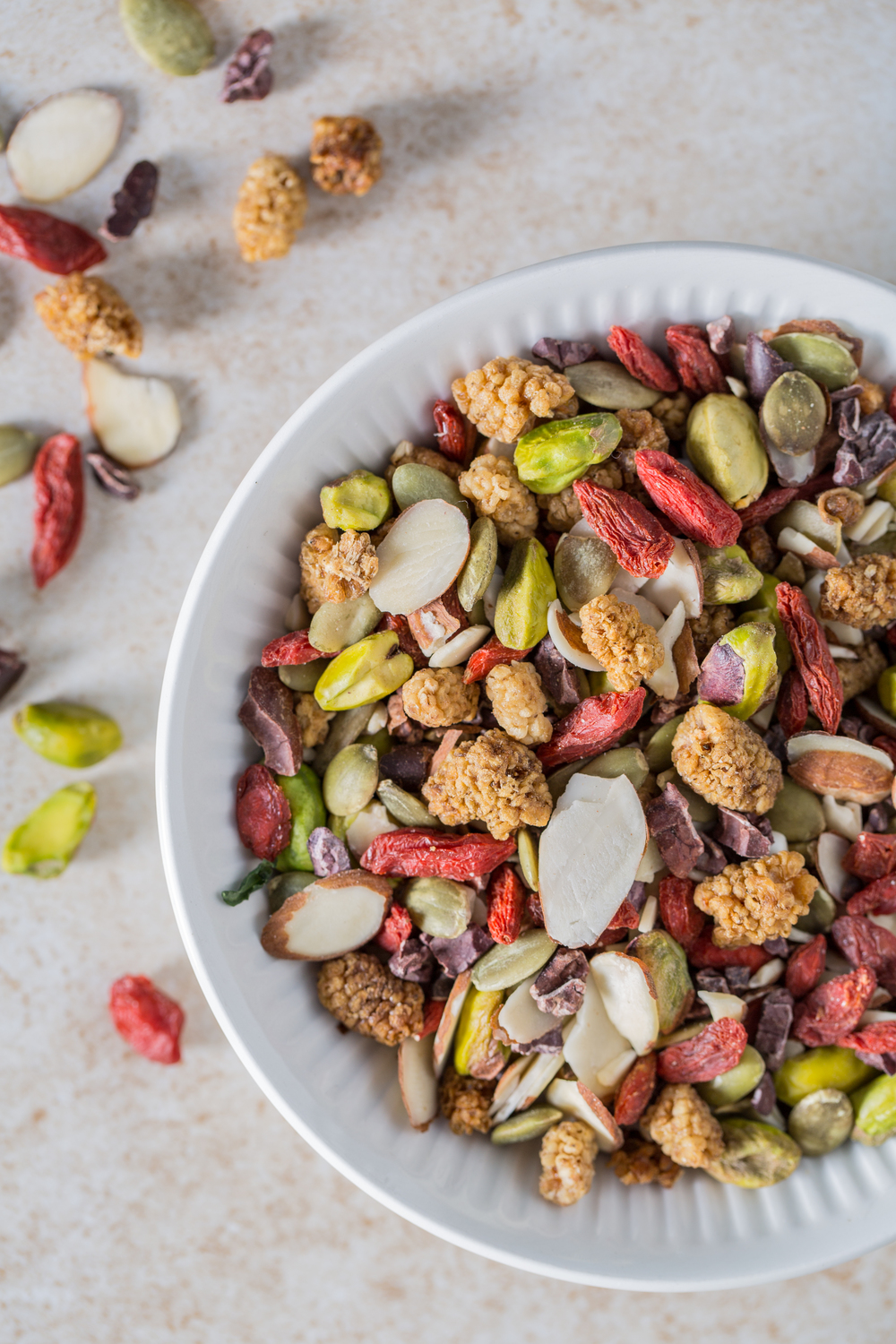 Homemade Trail Mix. Photo by Sarah Crowder.