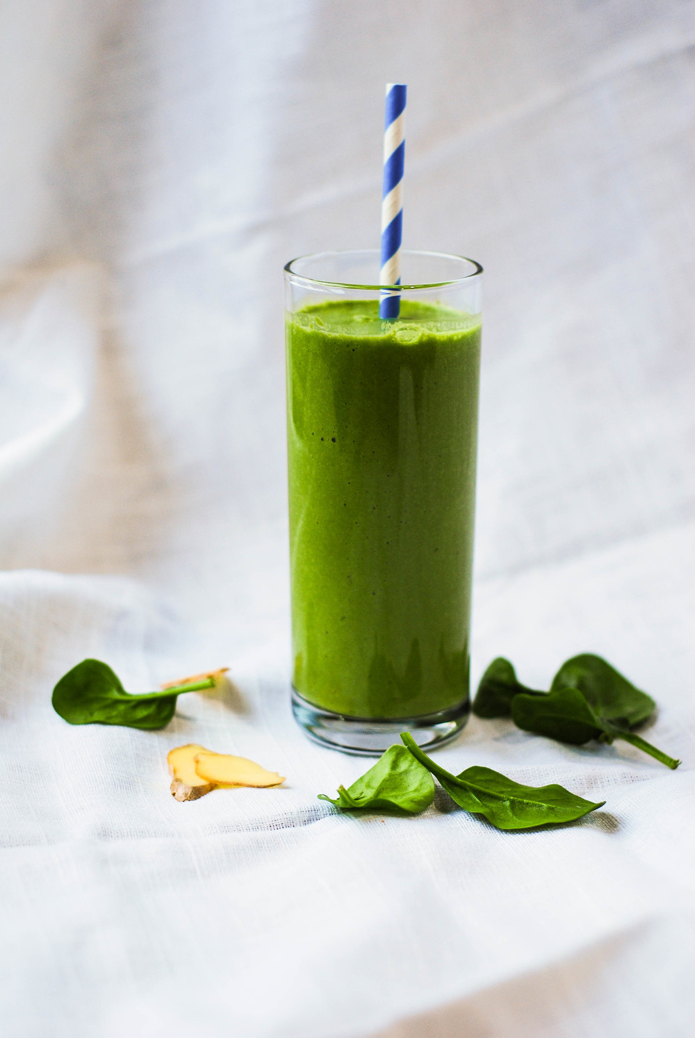 Antioxidant Matcha Smoothie. Photo by Jenny Dorsey.