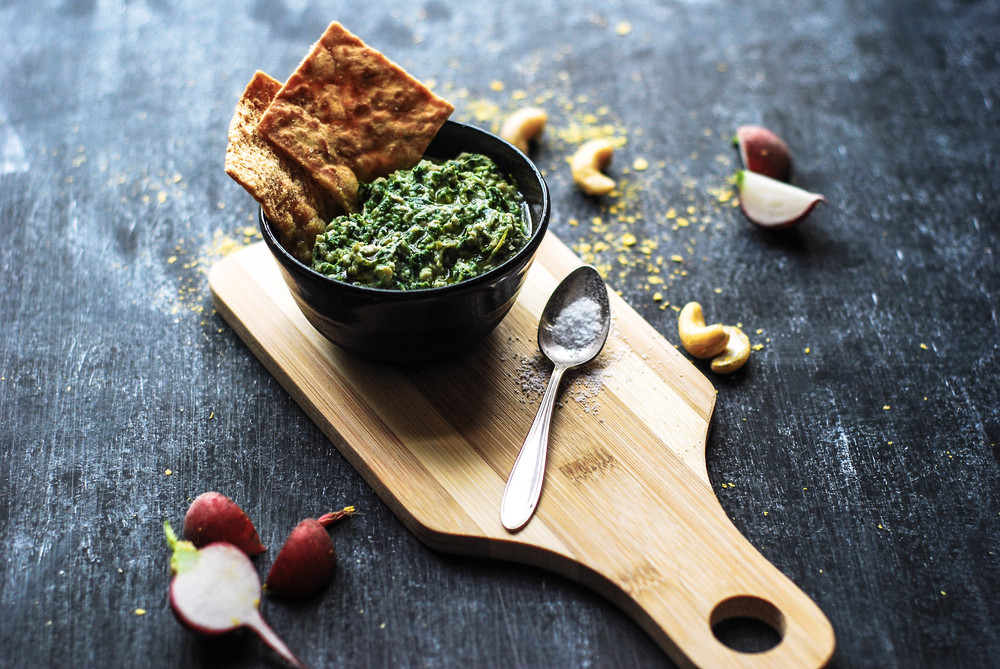 Vegan Spinach & Artichoke Dip. Photo by Jenny Dorsey.