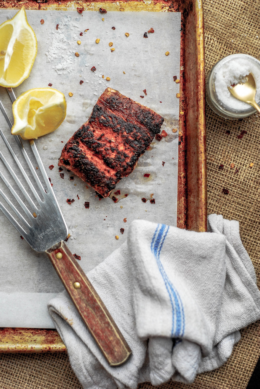 Blackened Salmon. Photo by Jenny Dorsey.
