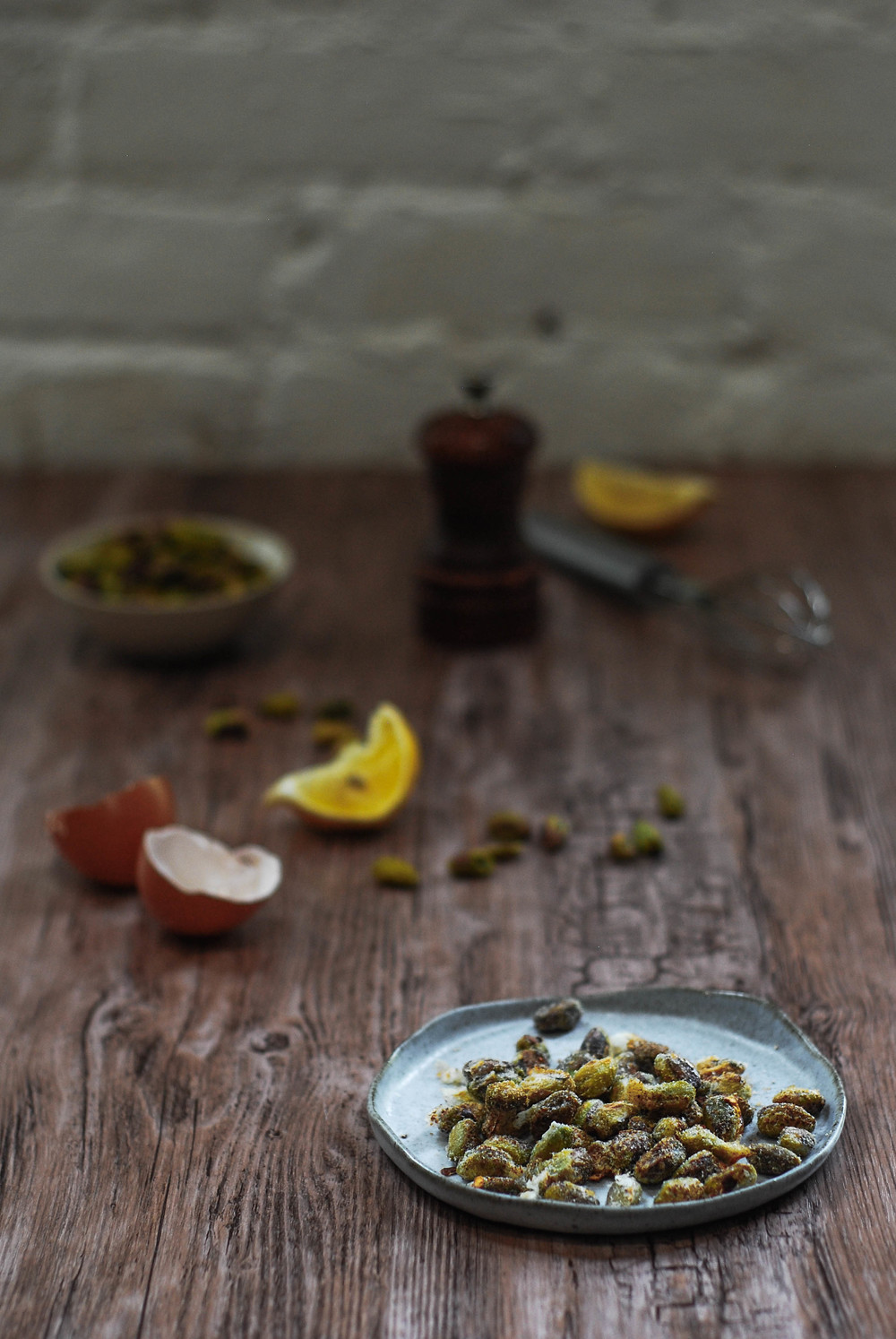 Spicy Pistachios. Photo by Jenny Dorsey.