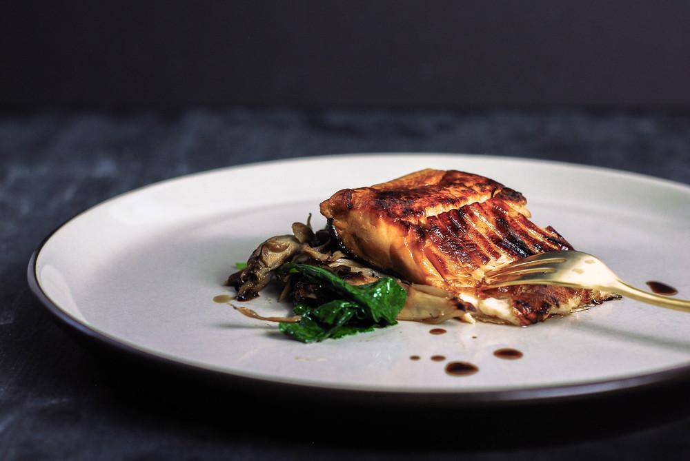 Miso Glazed Salmon. Photo by Jenny Dorsey.