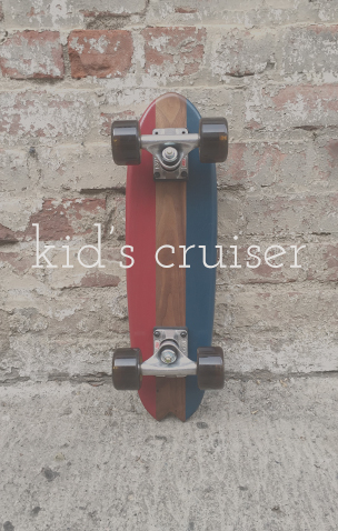 Custom kid's skateboards - Handmade in California