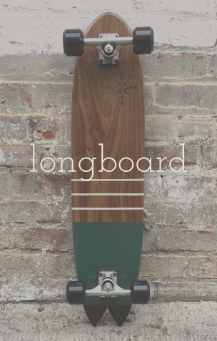Custom longboards - Handmade in California
