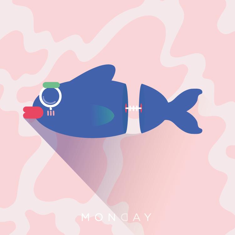 lunes: como un pez picado a la mitad //  patricia piña // 125 minutos.