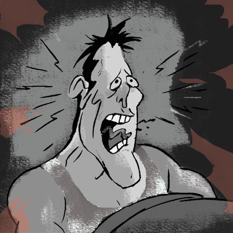 hector despierta asustado y cae en cuenta que todo fue una pesadilla //  carlos rodriguez // 35 minutos.