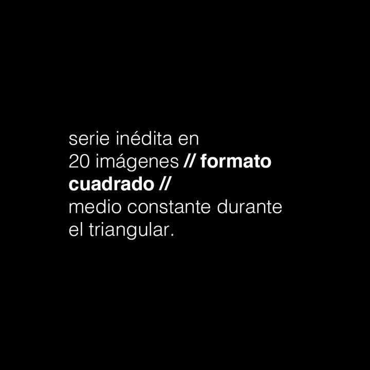 las reglas // del 15 de junio al 04 de julio de 2017 // #eltriangular
