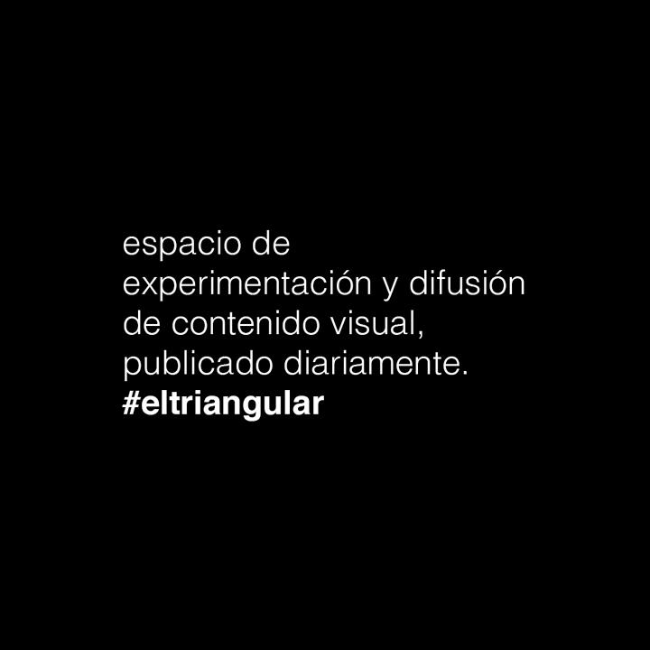 acerca // del 15 de junio al 04 de julio de 2017 // #eltriangular