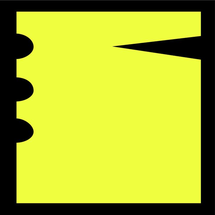 amarillo y negro, homenaje a gerd leufert  // javier vivas // instagram    formas concretas : esta serie es la síntesis fundamental entre las posibilidades de la luz y la materia como resultado de haber entendido la pintura como una cuestión experimental, entendiendo esto, presento variaciones pictóricas que mantienen un carácter escultórico como forma y por su asociación a ambientes, letras, espacios, etc pero siempre transmitiendo una necesidad de generar diálogos entre elementos básicos para entender las relaciones de figura y fondo.