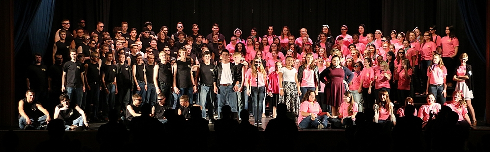 Harmony explosion camp northeast 2015 combined chorus