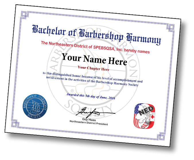 Sample - certificate