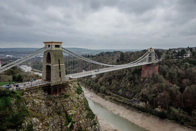 Popped to Bristol last weekend and our first port of call was the Clifton Suspension Bridge. I wasn't too impressed at first, but the view from the observatory changed that! #vsco #vscocam #vscotravel #explore #adventure #wanderlust #bristol #architecture #travel #nikon #d810