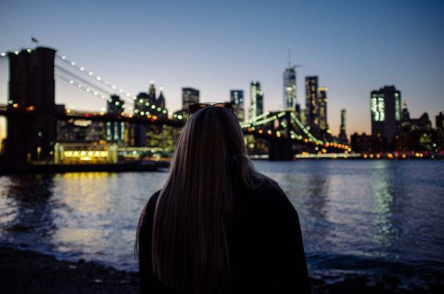 Dumbo was the perfect spot to watch the sun finish setting and the skyline come to life. #vsco #vscocam #travel #adventure #explore #newyork #nyc #igersny #skyline #cityscape #architecture #wanderlust #travelgram #travelersnotebook #travelphotography #fuji #fujifilm #fujix100 #traveler #beautifuldestinations #igers #igersnyc #igersusa #vsconewyork
