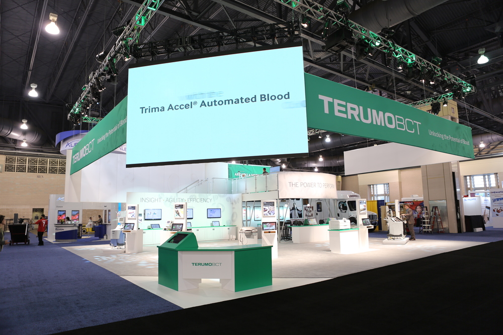 Terumo BCT  Tradeshow Experience Design