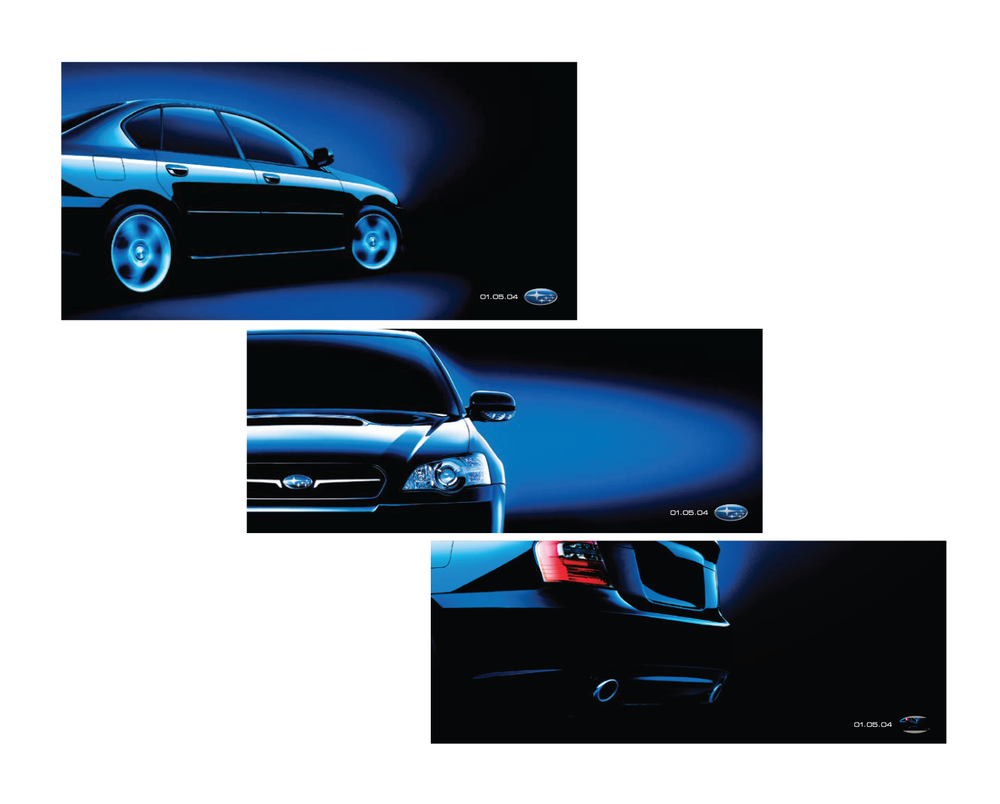 Client: Subaru America  Agency: TM Advertising  Outdoor Campaign for Detroit Auto Show, Concept, Art Direction and Design