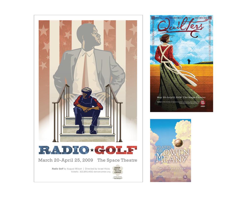 Client: Denver Center Theater Company  Agency: Fixler Davis  Poster Concept, Art Direction and Design