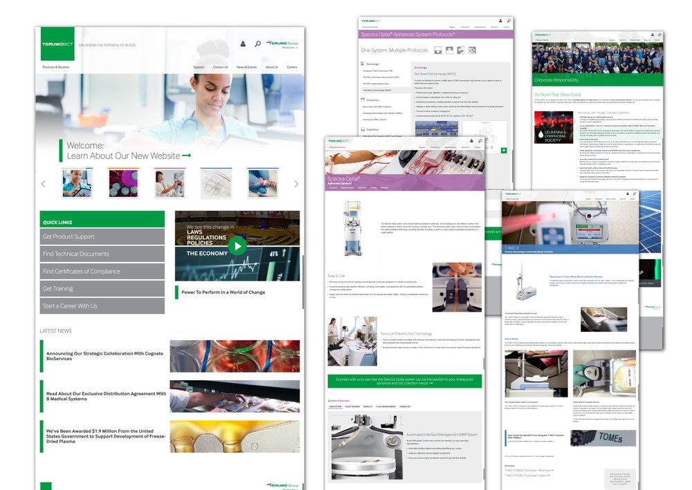 Terumo BCT website