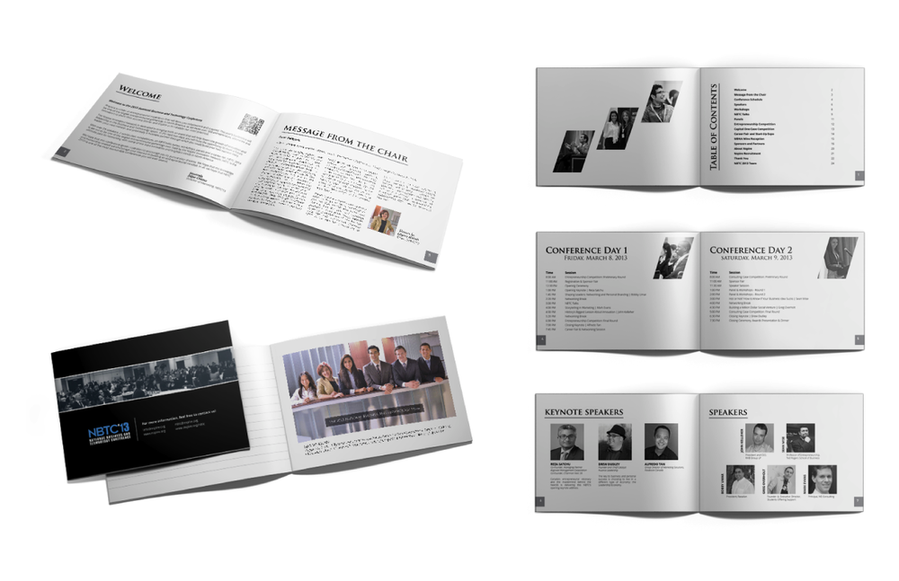 National Business and Technology Conference 2013 | Handbook, editorial and layout design, branding