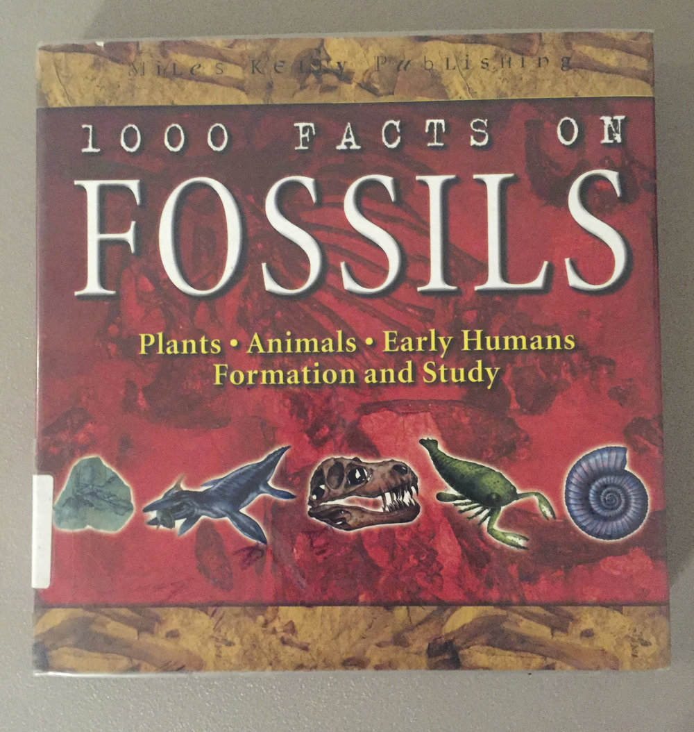 1000 Facts on Fossils - Book by Chris Pellant and Helen Pellant