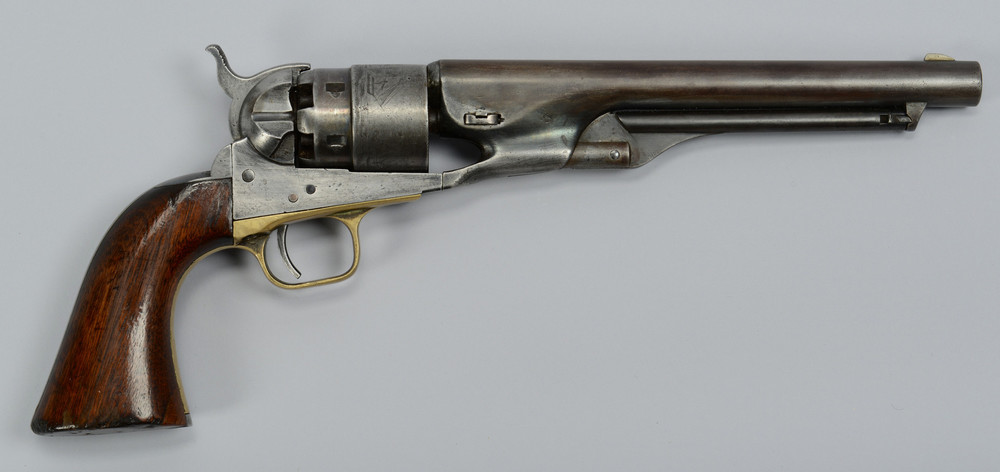 Colt Army model, six-shot, percussion revolver