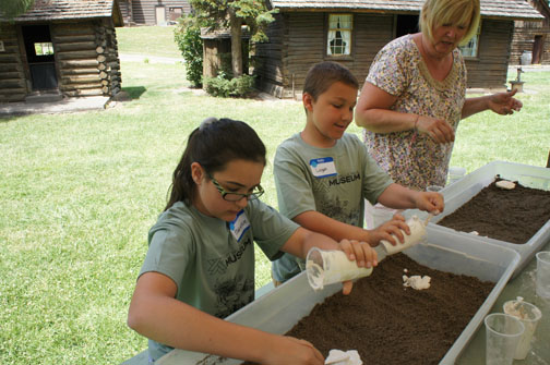 Learn about the natural world with hands-on activities.