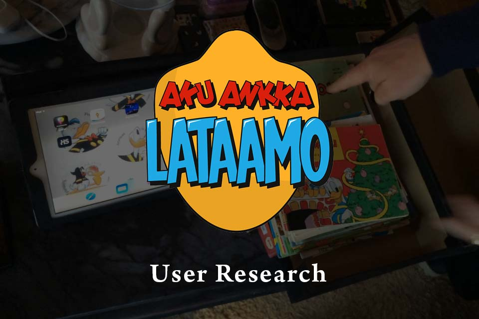 #media #digital-comics #user-insight #customer-journey #sanoma #Aku-Ankka-Lataamo