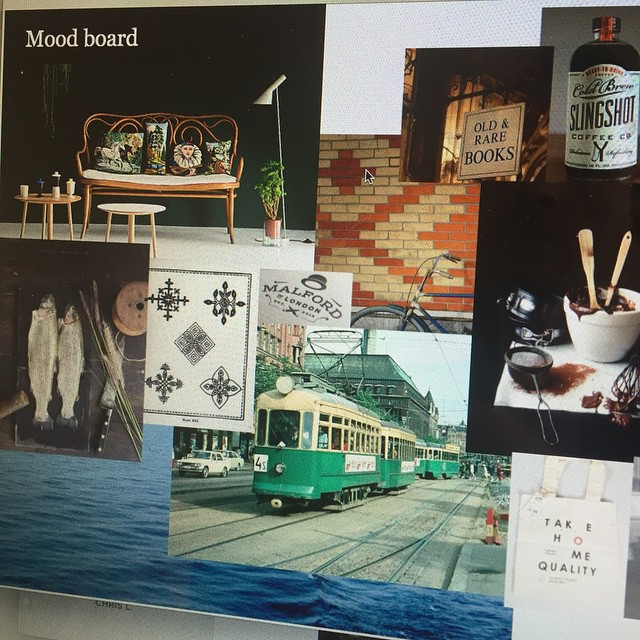 #Moodboard for #visualidentity of a markethall #competition #project #glimpse