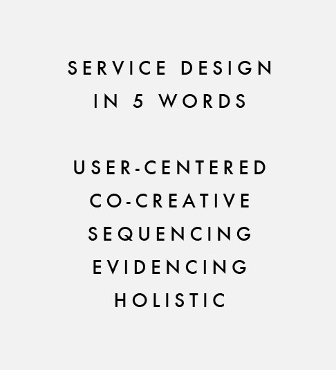 service-design-in-5-words