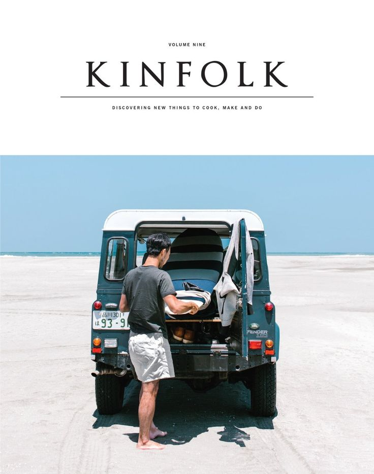 Kinfolk Magazine. VOL.9