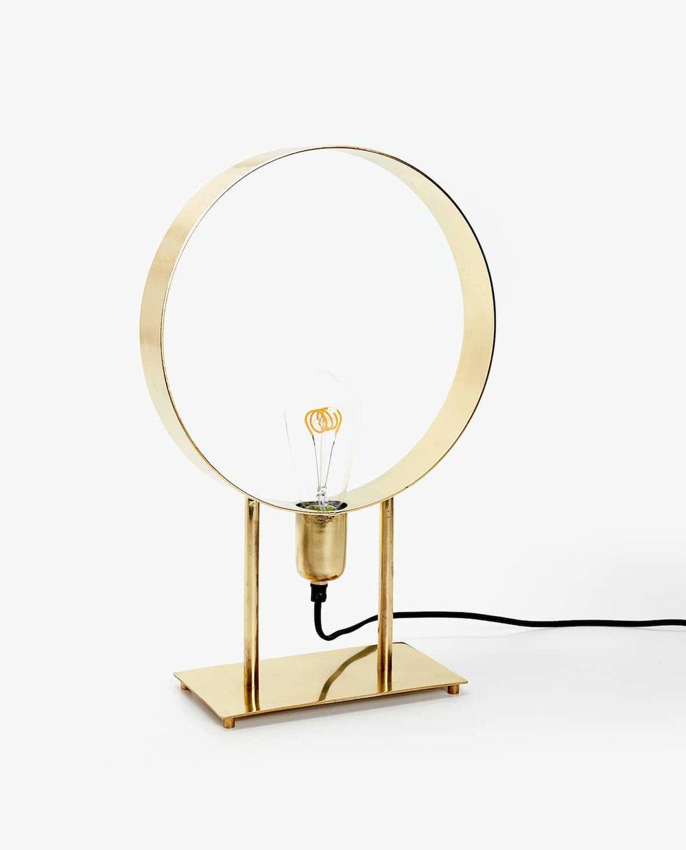 Lámpara Dorada de Zara Home