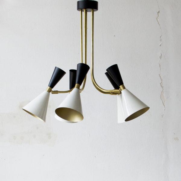 Lámpara colgante estilo Mid Century de Liderlamp