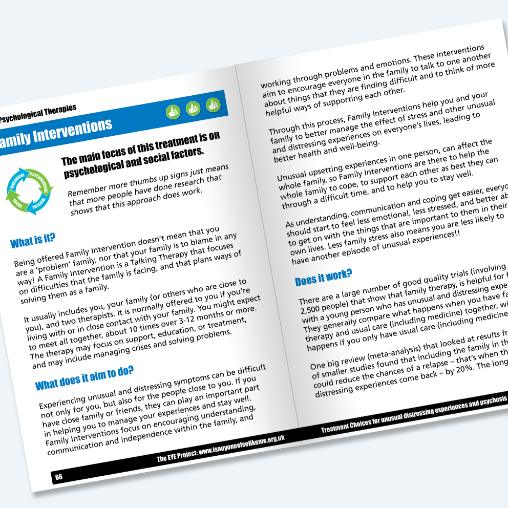 nhs booklet freelance design sussex
