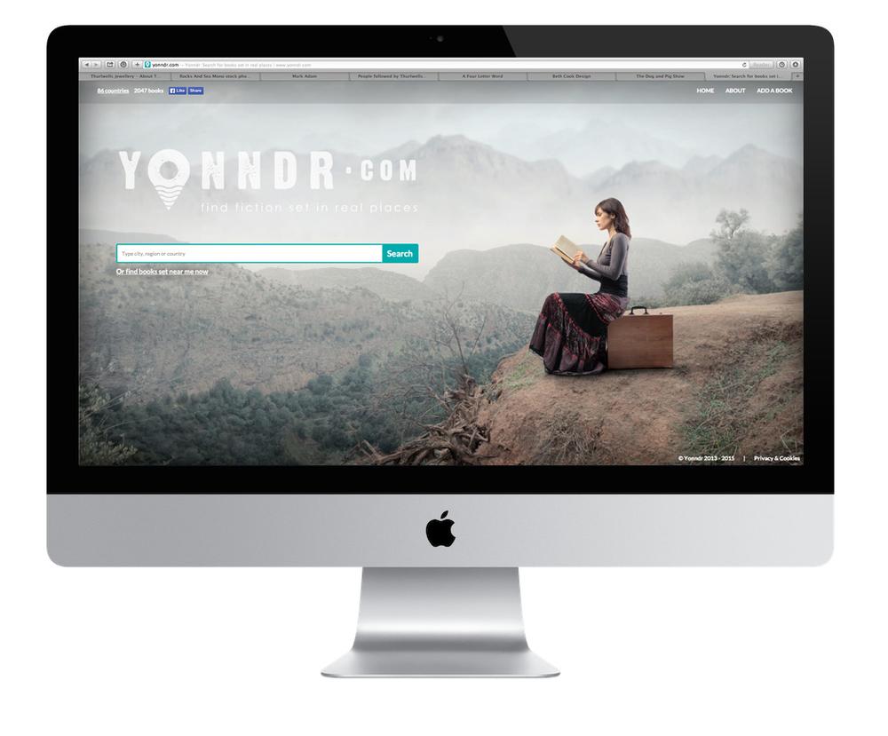 yonndr logo design